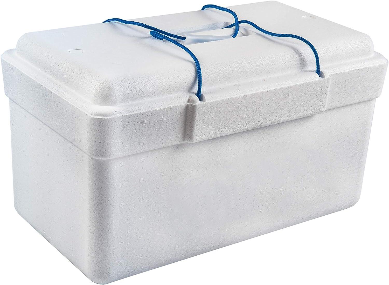 Nevera de Poliestireno, 25 litros de capacidad.Peso. 439 gramos ...