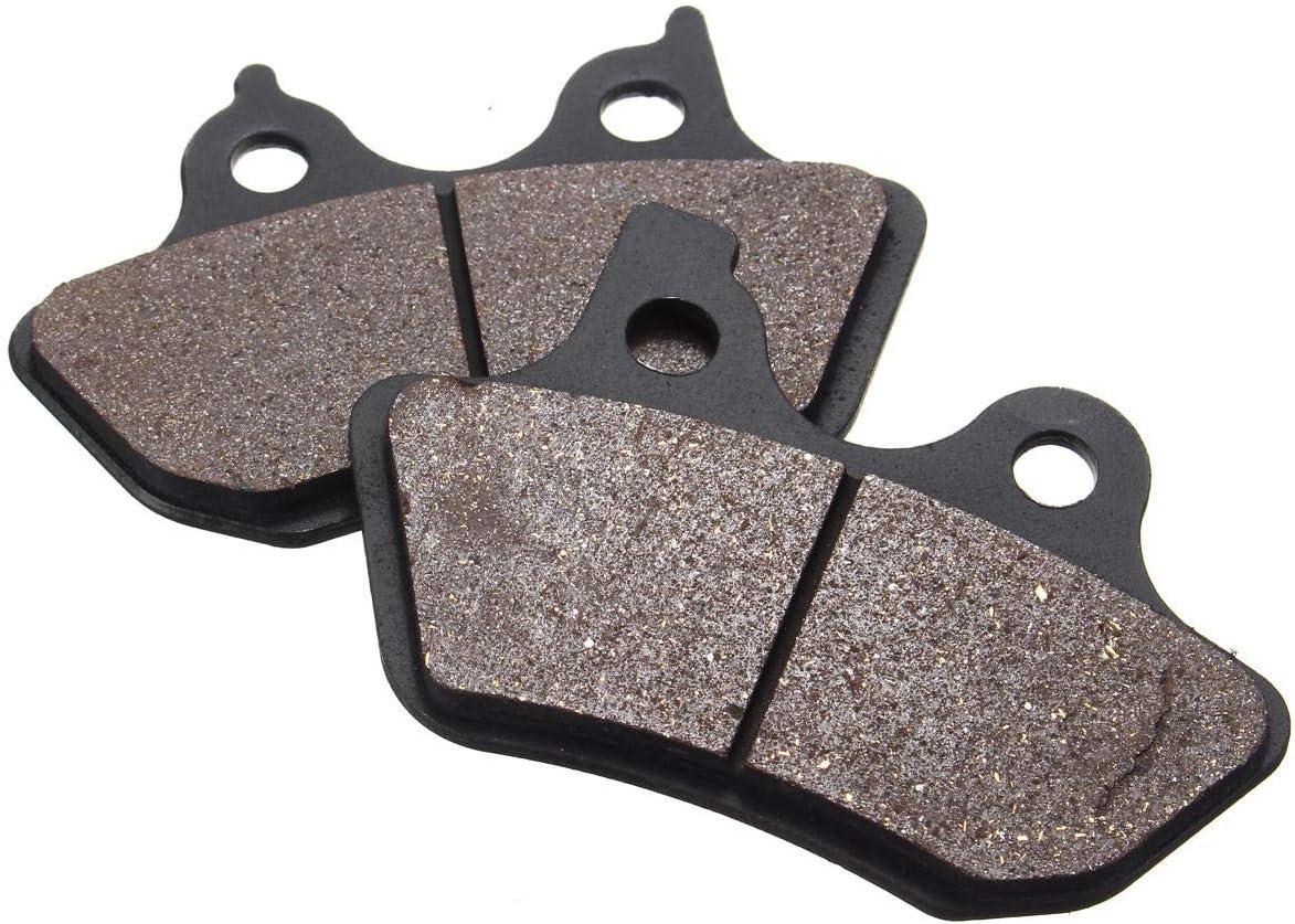 Front Rear Brake Pads For Harley Davidson Touring Sportster Dyna V-Rod Brakes
