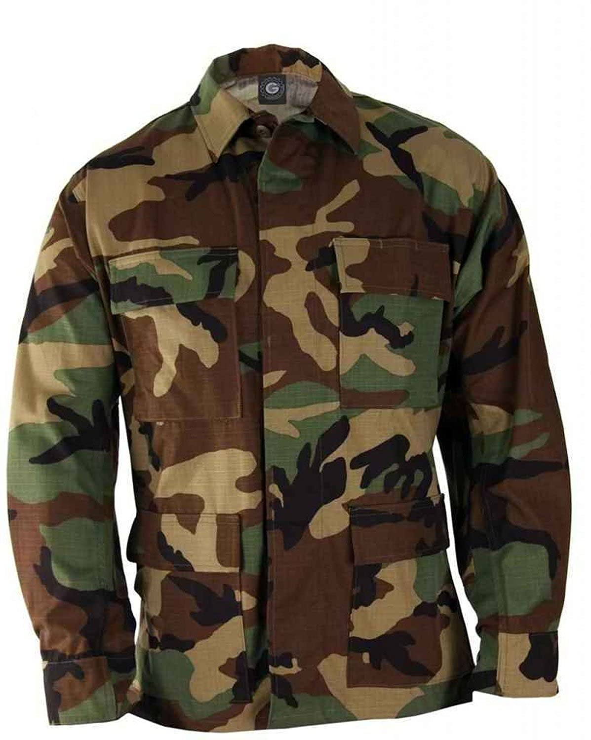 Mens Shirt - Military Ripstop Bdu