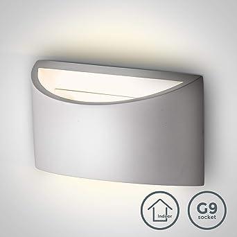 Exklusive Wandleuchte Keramik Wandstrahler Wandlampe von Design Licht
