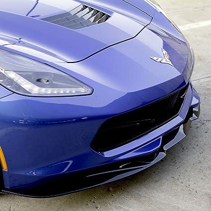 Corvette C7 Z06 Grand Sport Stingray Acs Front Splitter With Undertray Painted Carbon Flash Metallic