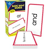 Carson Dellosa Basic Sight Words Flash Cards—Double-Sided, Grades 1-3 Dolch and Fry Words With Sentence Context, Reading Comp