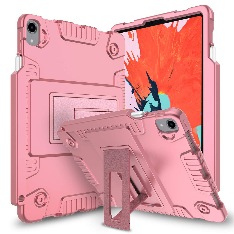 【正規逆輸入品】 Innens iPad Pro 11インチ Pro ピンク 2018ケース ウルトラソフトシリコン 耐衝撃 コーナー保護 コーナー保護 保護iPadケースカバー ハードキックスタンドとペンシル充電ホルダー付き ピンク IN-0020 ピンク B07KRX2XLS, MOVE TECH NET SHOP:5efd1fe7 --- a0267596.xsph.ru