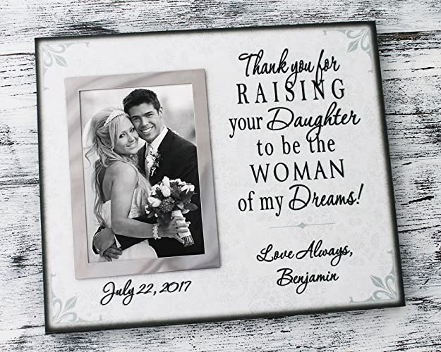 Amazon.com: Canvas wedding picture frame in handmade wedding gifts ...