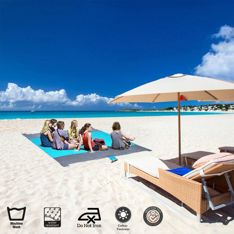 Amazon.com: Cobija para playa - Cobijas impermeables de ...