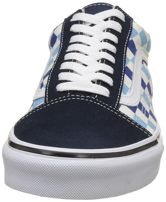 Vans Unisex Old Skool Classic Skate Shoes (11 D(M) US, Blue Topaz)