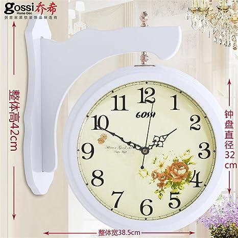 Komo silencioso Moderno Decoración Adorno para Hogar Reloj de Pared Relojes Creative Silencio en la Sala