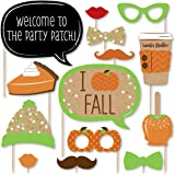 Amazoncom Happy Fall Yall Photo Booth Props Kit Thanksgiving Day