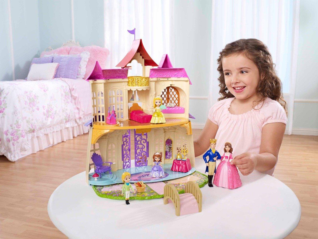 Disney princesses   cdt72   maison de poupée   château royal ...