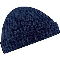 Beechfield Unisex Retro Trawler Winter Beanie Hat, Cappellino da Baseball Adulto