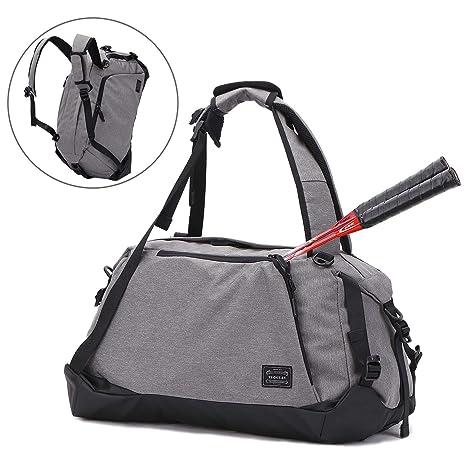 Amazon.com  Usbagtech Sports Gym Bag Travel Duffel Weekender Bag ... 1b233f5b3