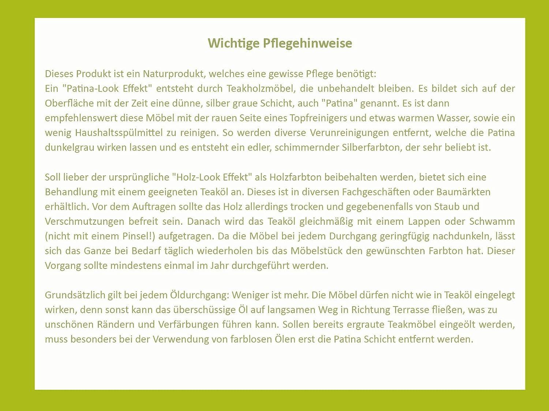 Teakholzmöbel patina  Amazon.de: SAM® Garten-Stuhl, Gartenmöbel aus Teak-Holz ...