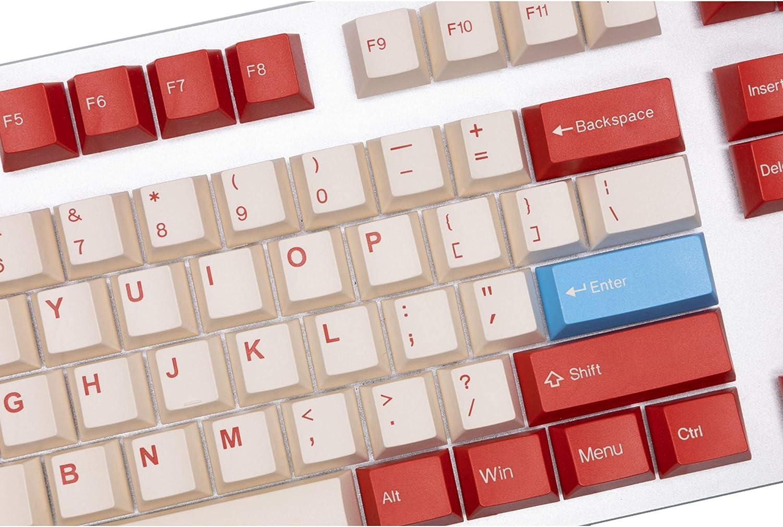 Tai-Hao Retro Game Cubic Profile Doubleshot ABS Keycaps - 128 Keys