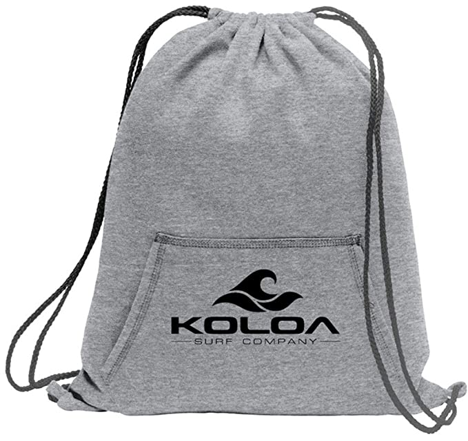 Koloa Surf Wave Logo Cinch Pack with Sweatshirt Pockets Athletic Heather at  Amazon Women s Clothing store  1f8db866f