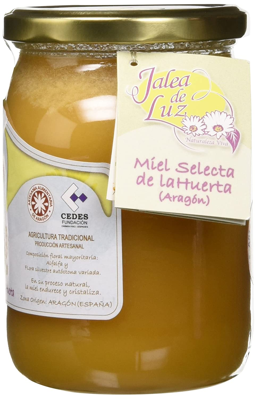 Jalea de Luz Miel Cruda Pura de Alfalfa - 950 gr.: Amazon.es ...