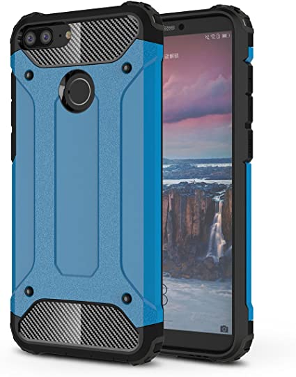 Huawei Honor 9 Lite Funda, SMTR PU&PC Ultra Silm Híbrida Rugged ...