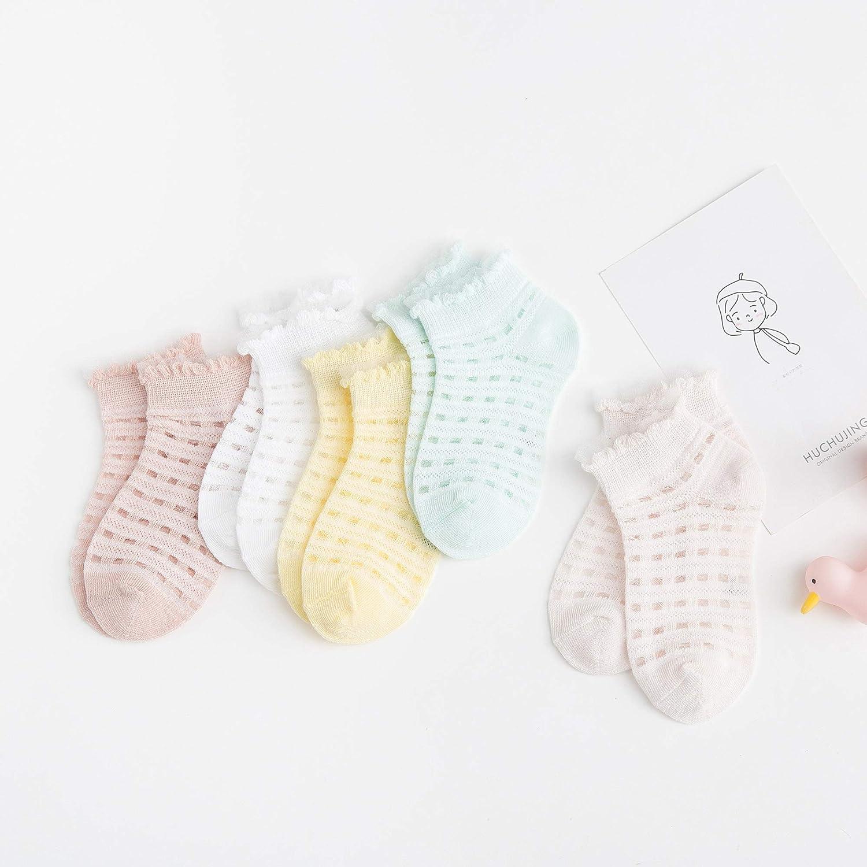 5 Pairs Baby Mesh Low Cut Ankle Socks//Baby Tights Pantyhose Socks