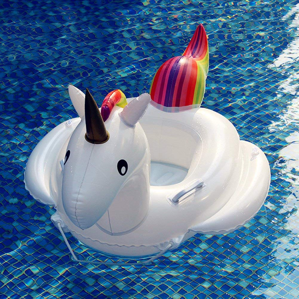 Black Friday Baby Pool Float Unicorn Toddlers Floaties