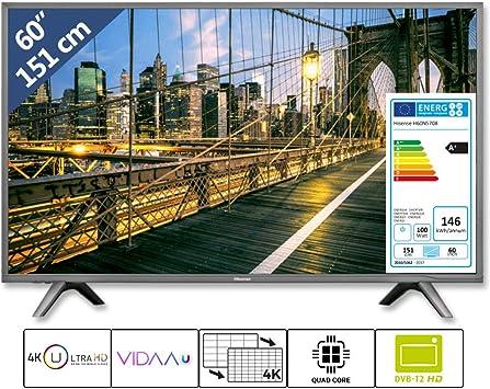 Hisense H60N5708 - Televisor LED de 60 Pulgadas (151 cm, 4K ...
