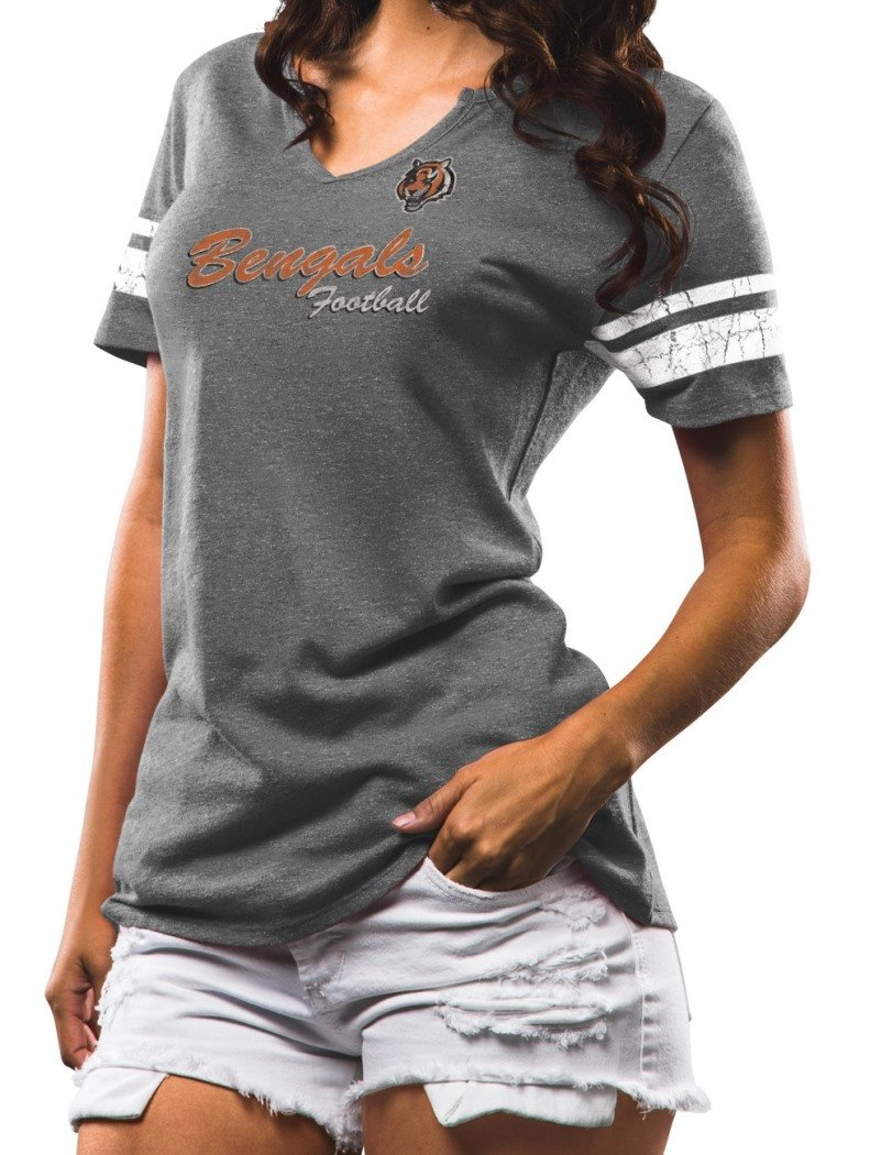 51026bad Amazon.com : Cincinnati Bengals Women's Majestic NFL