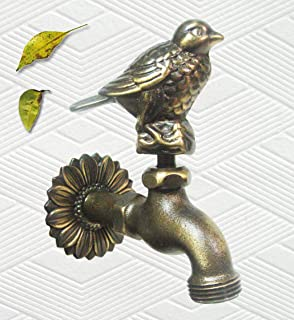 Amazoncom Brass Squirrel Garden Outdoor Faucet With a Brass