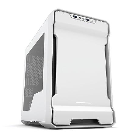 Phanteks PH-ES215P_WT Enthoo Evolv Mini iTX Tower Case, Window Case, White Computer Cases at amazon
