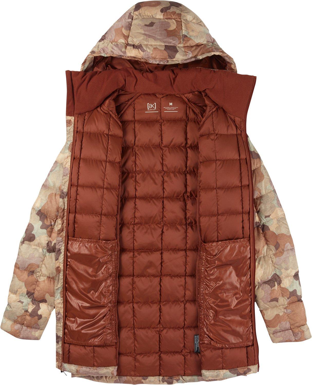 Burton AK Baker Long Down Insulator Jacket Womens Sz M ...