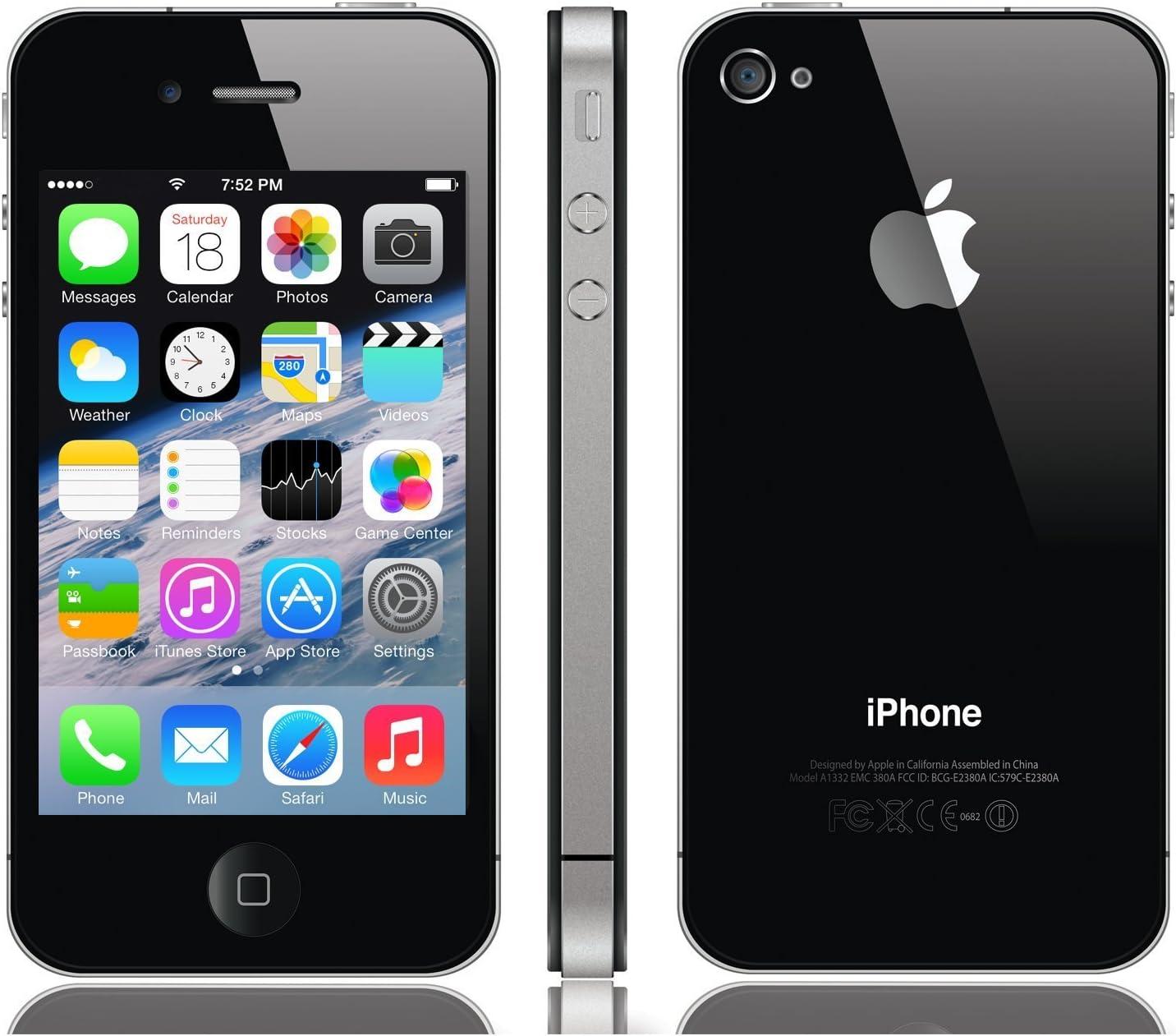 Apple iPhone 4S, Smartphone iOS (pantalla 3.5