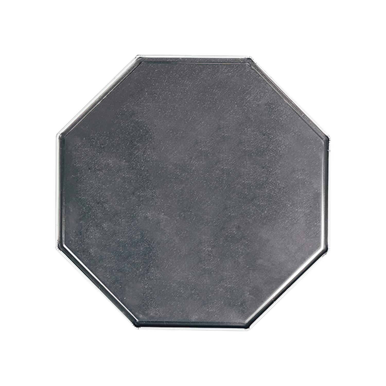ALUONI Taurus Decorative Octagonal Tin Sign,Brushstroke Style Zodiac Sign Form Personality Artistic Astrology Calendar Artwork Decorative for Garage,12L x 12 W