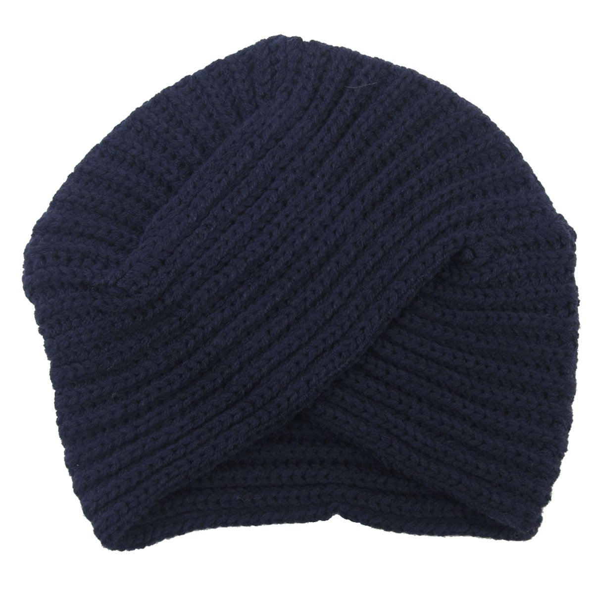 Butterme Cinturino in lana indietro con cappuccio indiano della fascia invernale della traversa del turbante stretto della donna ZUMUii ZUMU00005282