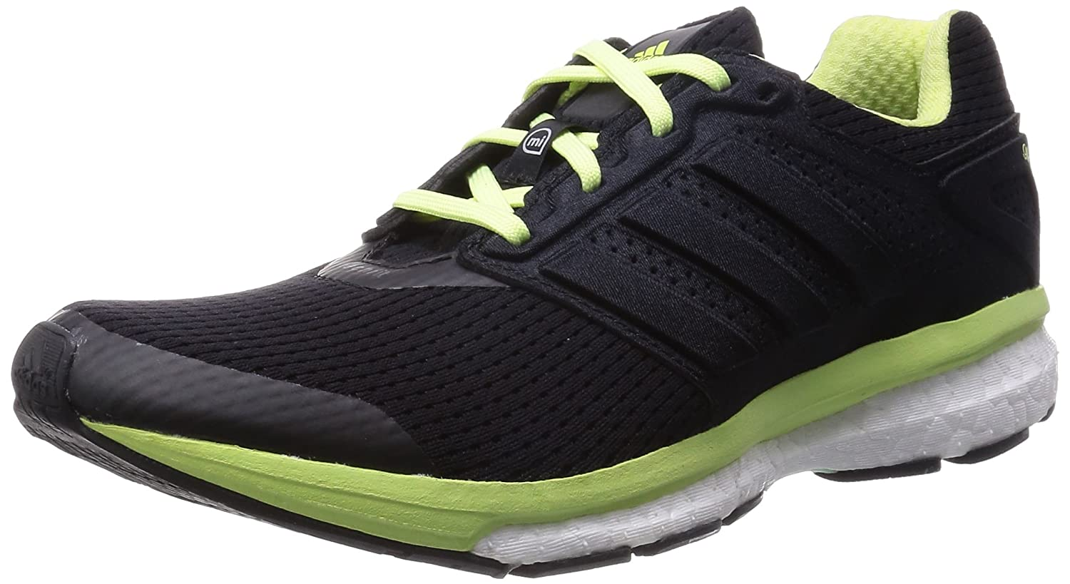Adidas Supernova Glide Boost 7 W - Zapatillas para Mujer 38 2/3 EU|Core Black/Ftwr White/Frozen Yellow F15