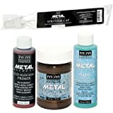 Modern Masters Metal Effects Bronze Paint and Blue Patina Kit (4-Ounce)