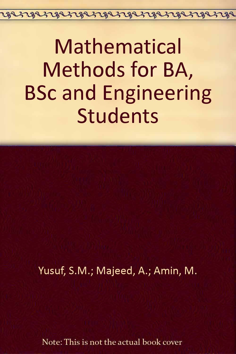 bsc mathematical methods notes