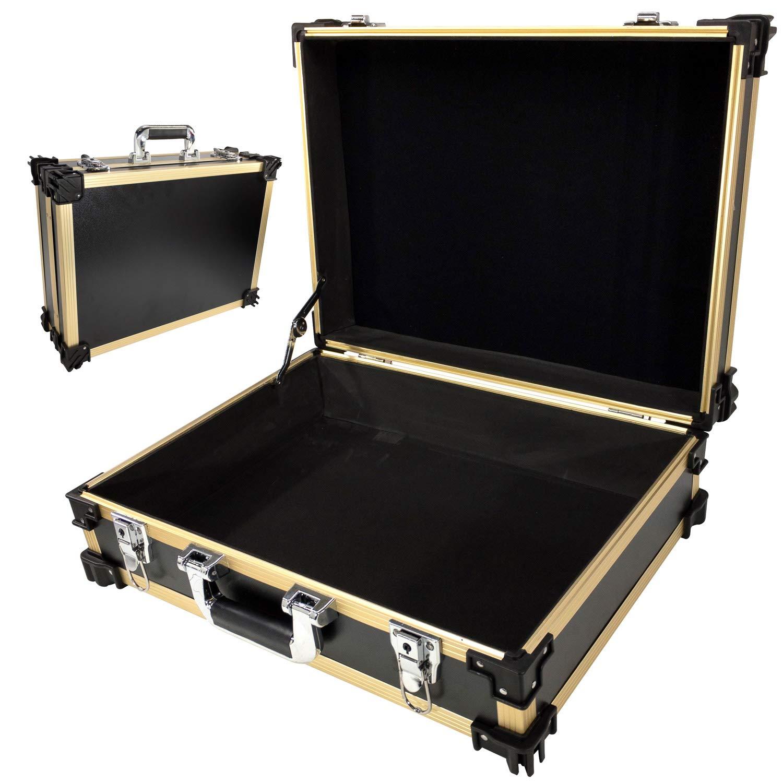 T.Z. Case International, STK18BD 荷造り用オーガナイザー, ブラックゴールド, One Size B07JMYY8JG