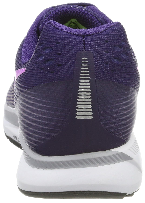 NIKE Women's Air Zoom Pegasus 34 Running Shoe B006K3F56A 8.5 B(M) US Ink/Hyper Violet