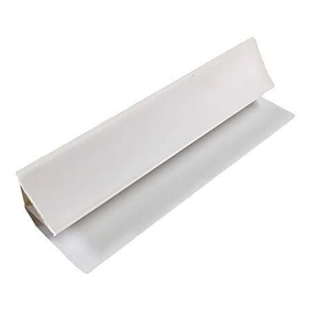 White 8mm Coving 2.6m Trim For Bathroom Ceiling Panels Wall Cladding PVC  Shower By DBS