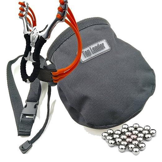 Top Lander Bolsas de magnesio para Escalada con Bolsillo y cinturón, Color Negro: Amazon.es: Deportes y aire libre