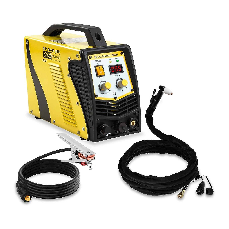 Stamos Germany - S-PLASMA 55H - Cortadora plasma - 55 A - 16 mm - Envío gratuito: Amazon.es: Bricolaje y herramientas