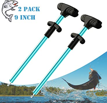 OCEAN CAT 9 inches Easy Release Fish Hook Remover Tool Portable Squeeze-Out Fish