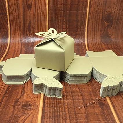 10pcs Set Cake Box Table Display Wedding Favors Case Wrap Celebration Souvenirs