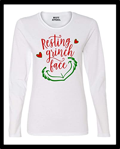 41106ef1118 Image Unavailable. Image not available for. Color  Resting Grinch Face  Christmas The ...
