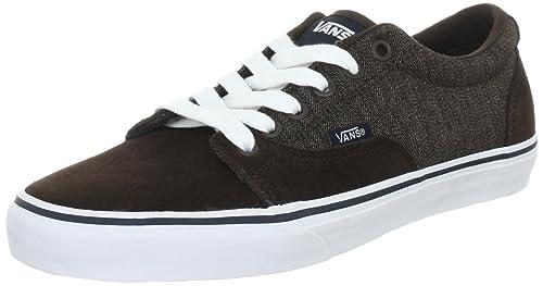 Vans Kress VNLH67F - Zapatillas clásicas de ante para hombre, color marrón, talla 39: Amazon.es: Zapatos y complementos