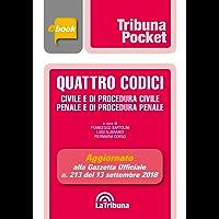 Quattro codici: Seconda Edizione 2018 Collana Pocket