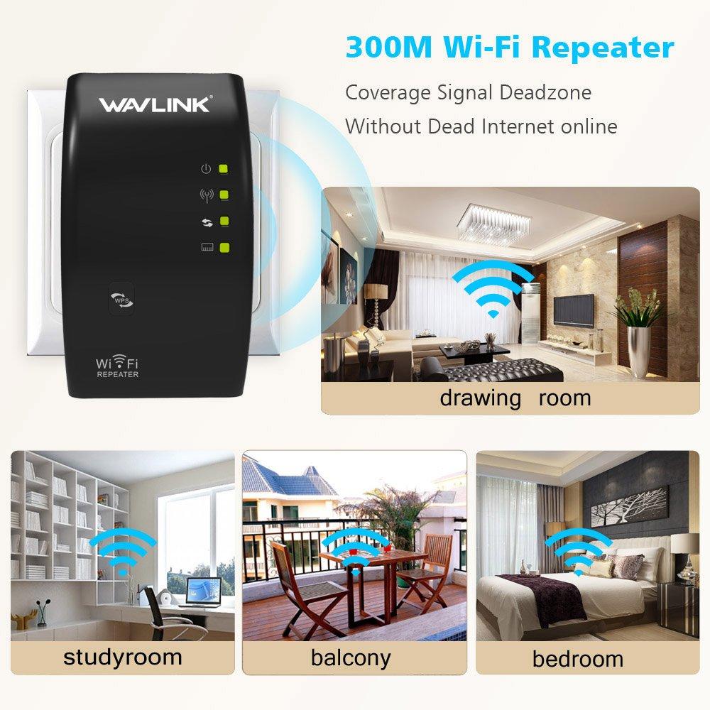 Wlan Repeater, MECO LAN- Port WIFI Range Extender: Amazon.de ...