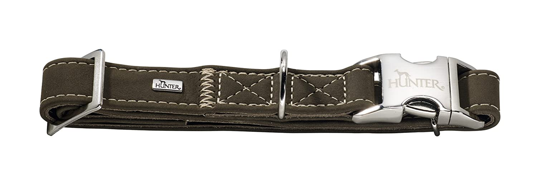 Hunter 63868 00006 Hunting Collar Size, Nubuck Leather, S, oliv