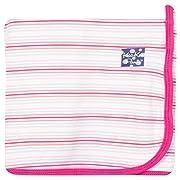 KicKee Pants Print Swaddling Blanket, Girl Desert Stripe