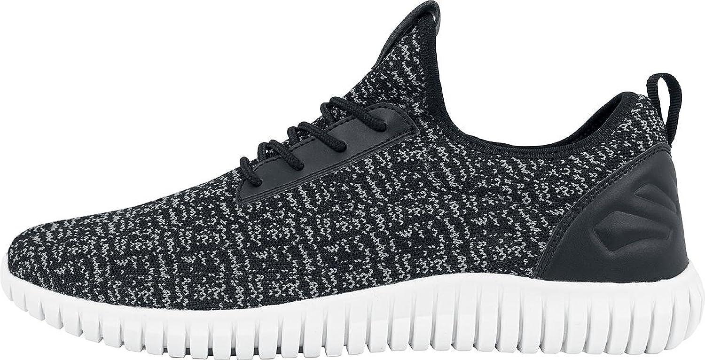 Urban Classics Shoes Advanced Light Runner, Größe:44, Farbe:black/white