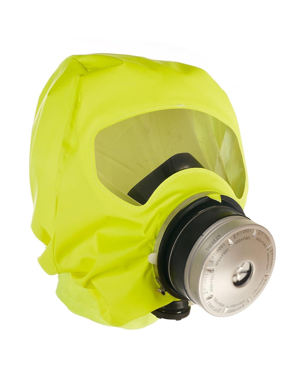 Drä ger Parat 5510 Brand-Fluchthaube | effektive Rettungshaube zum Schutz vor Brandgasen, CO und Kohlenmonoxid | Karton mit 1 Brand-Schutzhaube Dräger