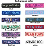 3 inches hook fastener personalized custom name tape dog name tag. Black Bedroom Furniture Sets. Home Design Ideas