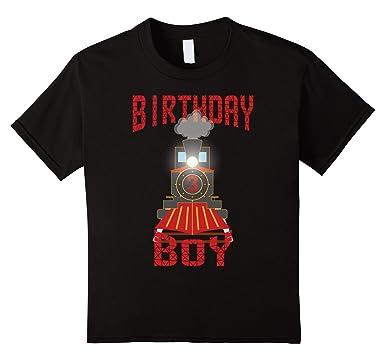 Amazon Kids 3rd Birthday Shirt Boy Train Clothing